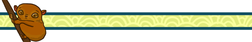 divider tarsier