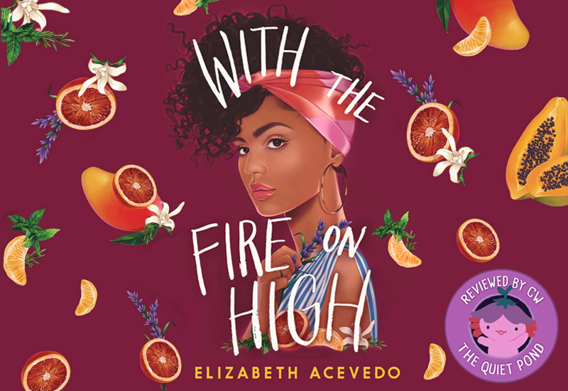 With the Fire on High by Elizabeth Acevedo.