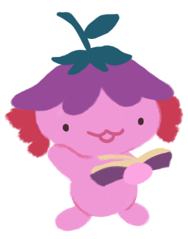 xiaolong the axolotl, holding up a book and reading from it.