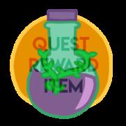 Quest reward item for pondathon, potion of trust,