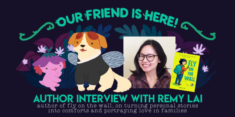 remy lai fly on the wall author interview the quiet pond